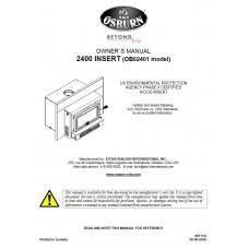 2400 Wood Insert Manual